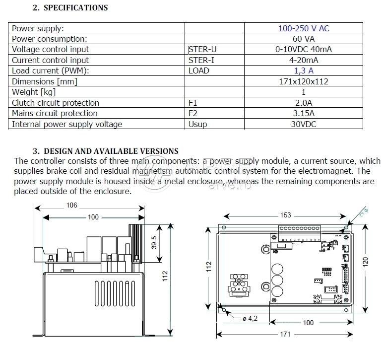 Регулятор тока EZP-51-00 EMA–ELFA / Cantoni фото 34837