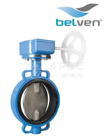 Затвор дисковый ДУ700 (DN 700) поворотный межфланцевый