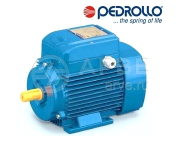Однофазные электродвигатели Pedrollo Km1